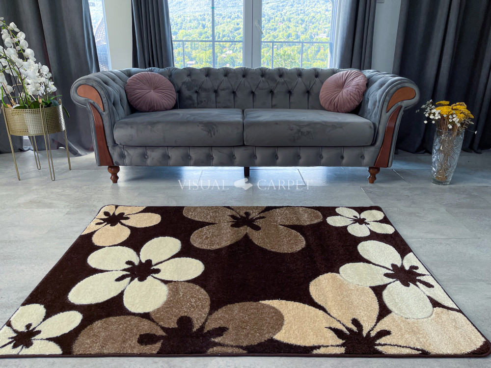 Venita 4808 brown (barna) 80x150cm
